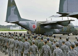 Japan seeks record defense budget to counter Chinese military