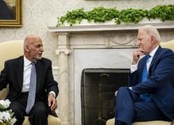 BIDEN-GHANI PHONE CALL REVEALS BOTH MISJUDGED TALIBAN ADVANCE