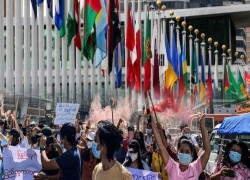 Myanmar shadow government reaps diplomatic harvest