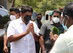 SRILANKA: OPPOSITION LEADER CALLS FOR SNAP ELECTION