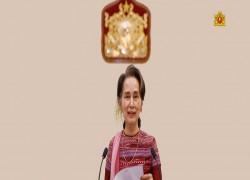 DAW AUNG SAN SUU KYI DENIES RUMORS OF TALKS WITH MYANMAR REGIME