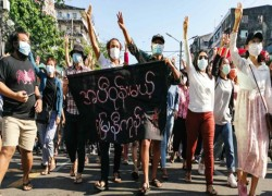 Myanmar, a violent tale of two governments