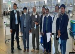 আফগানিস্তানে আটকে পড়া নয়জন ফিরলেন বাংলাদেশে