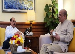 MORAGODA HOLD TALKS WITH INDIAN FOREIGN SECRETARY