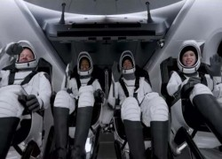 SPACEX LAUNCHES WORLD'S FIRST 'AMATEUR ASTRONAUT' CREW TO ORBIT EARTH