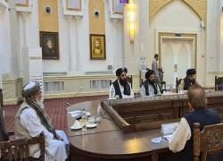 চীন, রাশিয়া ও পাকিস্তানের কূটনীতিকদের সঙ্গে বৈঠক আফগান প্রধানমন্ত্রীর