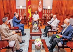 Lankan President sounds India on making Indian Ocean a Zone of Peace