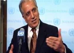US SHOULD HAVE PUSHED EX-AFGHAN PRESIDENT GHANI HARDER, SAYS KHALILZAD